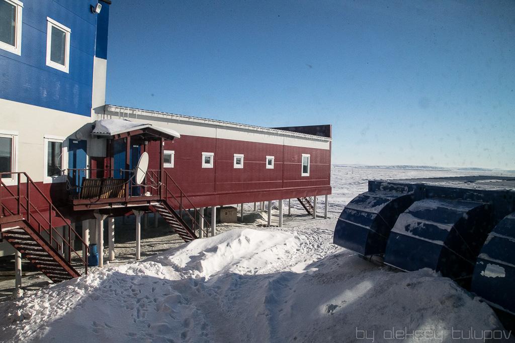 полярная станция остров Самойловский