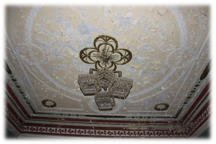 Дом Ливчака потолок
