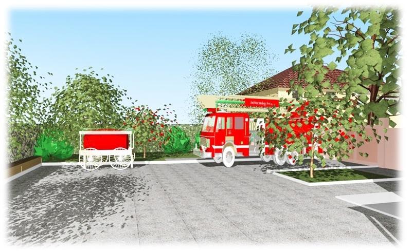 Проект благоустройства усадьбы музея пожарной охраны3