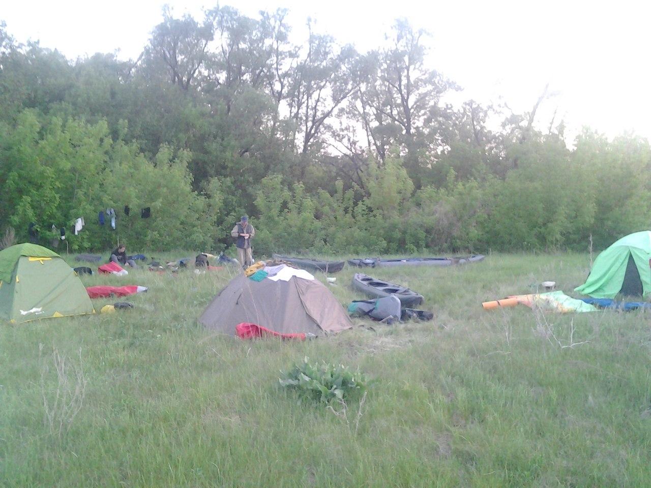 Первый лагерь