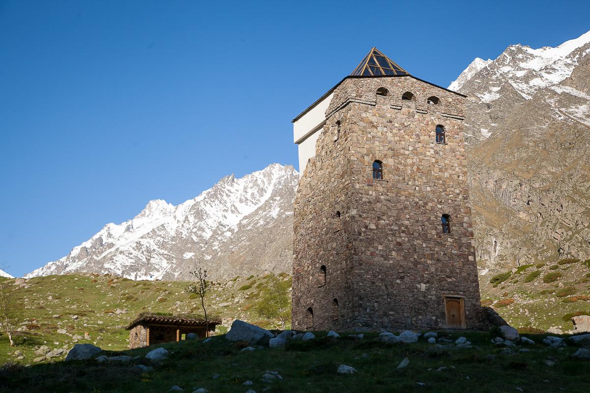 Башня-музей, построена нсколько лет назад