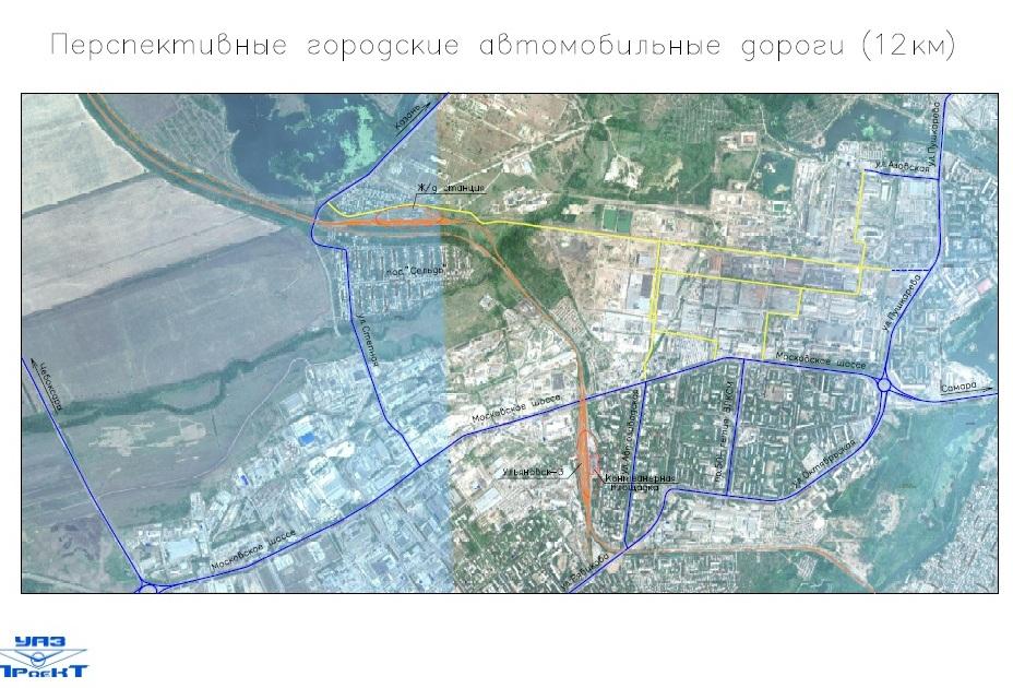 перспективные автомобильные дороги 12 км