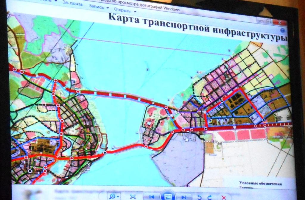 Транспортная схема Ульяновска