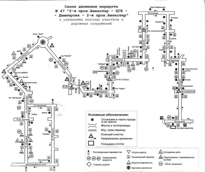 По вопросам работы маршрутов