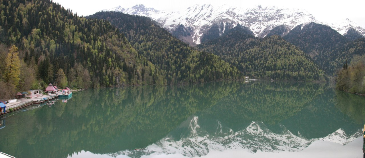 Абхазия мая 6 Озера Рица