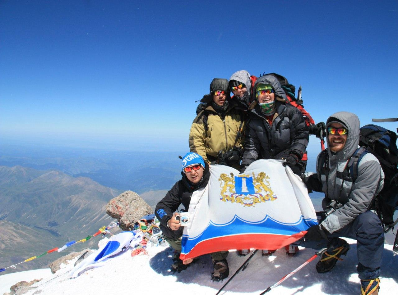 Западный Эльбрус 5642 высочайшая точка Европы