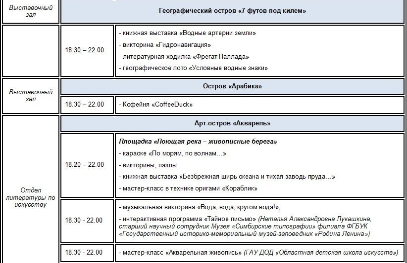 Расписание движения транспорта в