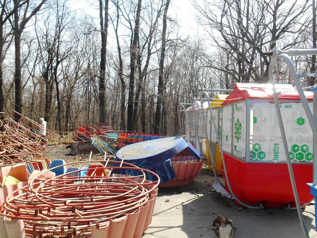 Новое колесо обозрения запустят вЛетнем саду Ижевска 30апреля