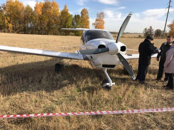 ВУльяновской области учебный самолёт совершил аварийную посадку